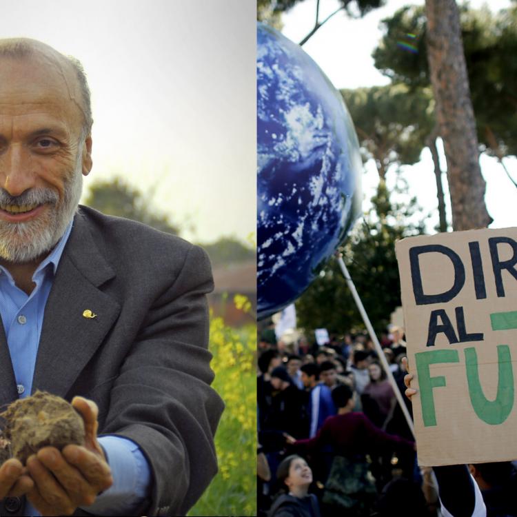 Carlo Petrini incontra Fridays For Future