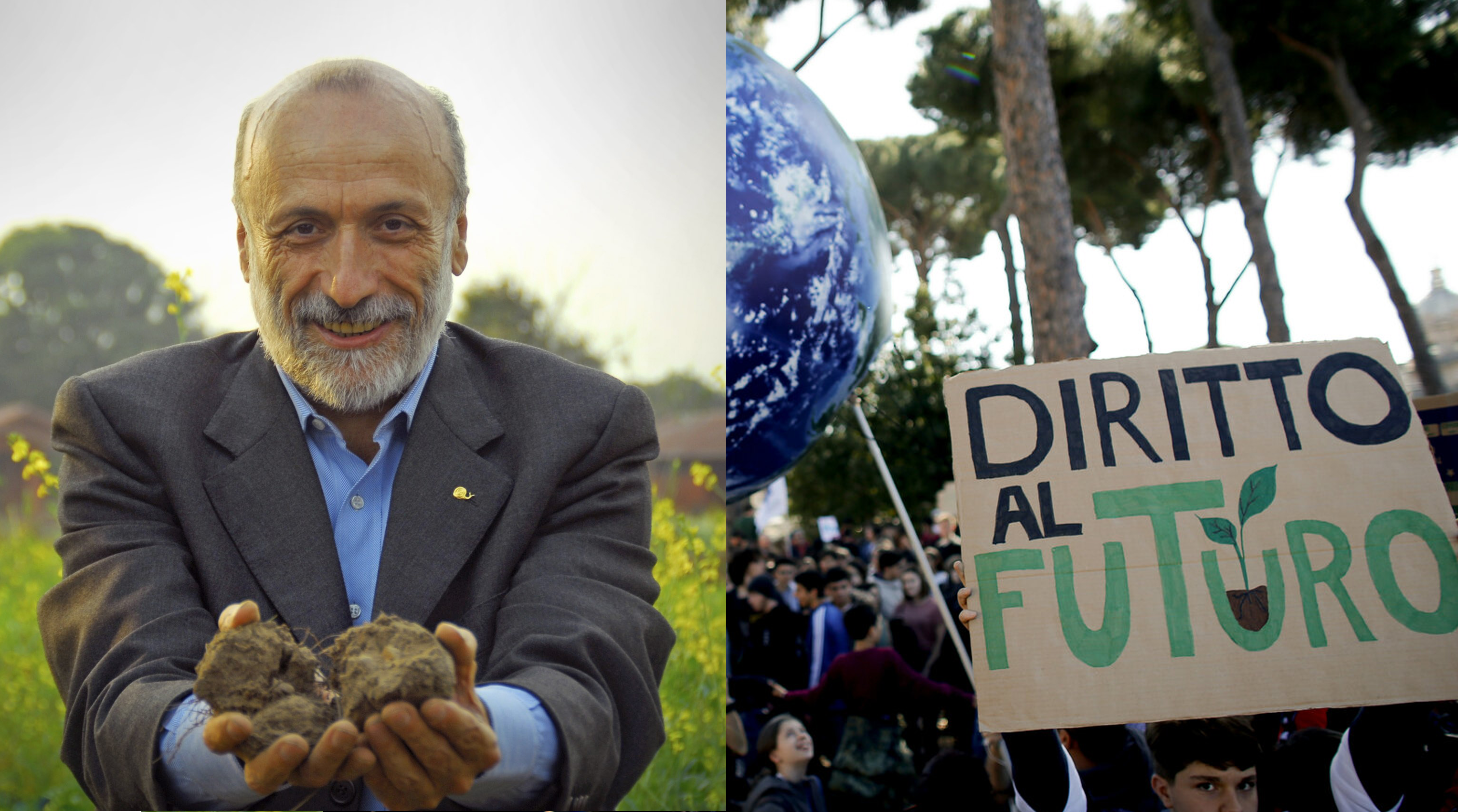 Carlo Petrini incontra Fridays For Future